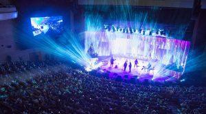 پوشش تصویری و نورپردازی کنسرت